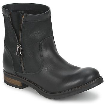 Cipők Női Csizmák Casual Attitude ISPINI Fekete