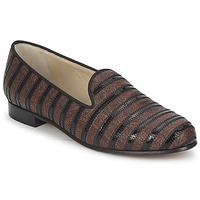 Cipők Női Mokkaszínek Etro FLORINDA Barna / Fekete