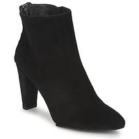 Cipők Női Csizmák Stuart Weitzman ZIPMEUP Fekete