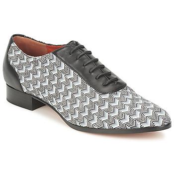 Cipők Női Bokacipők Missoni WM076 Fekete  / Szürke