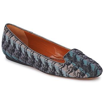 Cipők Női Mokkaszínek Missoni WM004 Kék