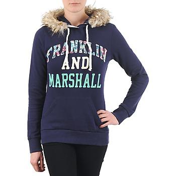 Ruhák Női Pulóverek Franklin & Marshall COWICHAN Tengerész