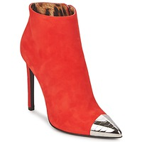 Cipők Női Bokacsizmák Roberto Cavalli WDS213 Piros