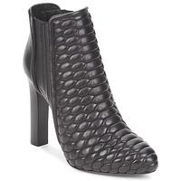 Cipők Női Bokacsizmák Roberto Cavalli WDS227 Fekete