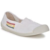Cipők Női Balerina cipők / babák Wati B LYNDA Fehér
