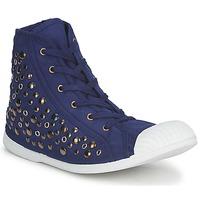 Cipők Női Magas szárú edzőcipők Wati B BEVERLY Tengerész