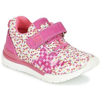 Cipők Lány Rövid szárú edzőcipők Agatha Ruiz de la Prada ADENOR Rózsaszín