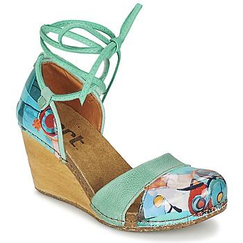 Cipők Női Szandálok / Saruk Art VALBY 499 Zöld