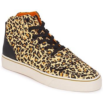 Cipők Női Magas szárú edzőcipők Creative Recreation W CESARIO XVI M Leopárd