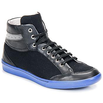 Cipők Férfi Magas szárú edzőcipők Swear GENE 3 Fekete / Kék