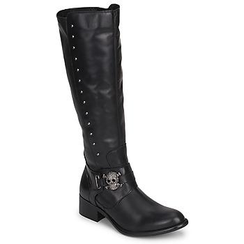 Cipők Női Városi csizmák Betty London RIME ROCK Fekete