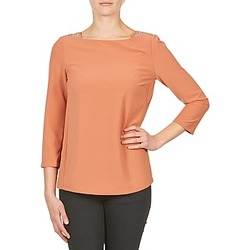 Ruhák Női Hosszú ujjú pólók Color Block 3214723 Korall