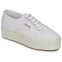 Shoes Női Rövid szárú edzőcipők Superga 2790 LINEA UP AND Fehér