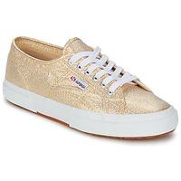 Cipők Női Rövid szárú edzőcipők Superga 2751 LAMEW Arany