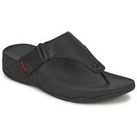 Cipők Férfi Lábujjközös papucsok FitFlop TRAKK II Fekete