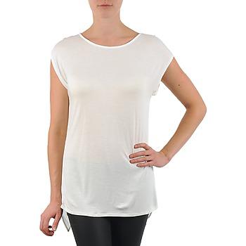 Ruhák Női Rövid ujjú pólók La City TS CROIS D6 Fehér