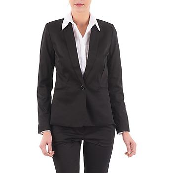 Ruhák Női Kabátok / Blézerek La City VBASIC Fekete