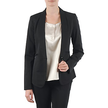 Ruhák Női Kabátok / Blézerek La City FIDELIS Fekete