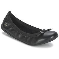 Cipők Női Balerina cipők / babák Le Temps des Cerises LILOU Fekete