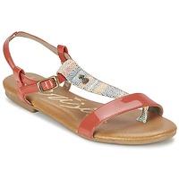 Cipők Női Szandálok / Saruk Le Temps des Cerises CARLY CORAIL Korall
