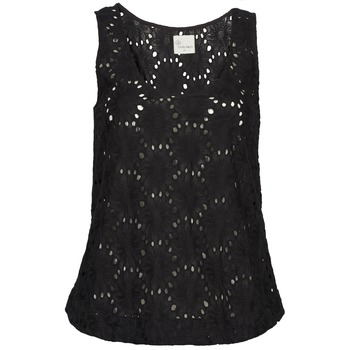 Ruhák Női Trikók / Ujjatlan pólók Stella Forest ADE007 Fekete