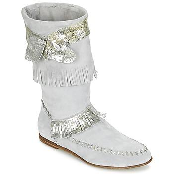Cipők Női Városi csizmák Now MATELI Szürke / Ezüst