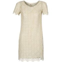 Ruhák Női Rövid ruhák Stella Forest ARO051 Ekrü / Arany