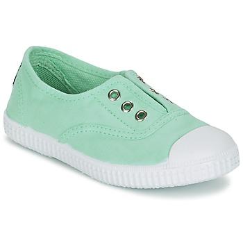 Cipők Lány Rövid szárú edzőcipők Chipie JOSEPE Zöld / Opál