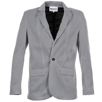 Ruhák Női Kabátok / Blézerek American Retro JACKYLO Fehér / Fekete