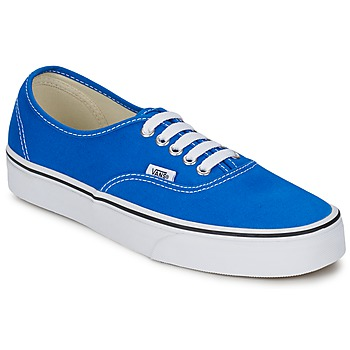 Cipők Rövid szárú edzőcipők Vans AUTHENTIC Kék / Fehér