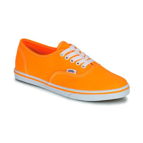 Cipők Női Rövid szárú edzőcipők Vans AUTHENTIC LO PRO Narancssárga   Pop ddd121a08f