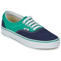 Cipők Rövid szárú edzőcipők Vans ERA Kék / Zöld