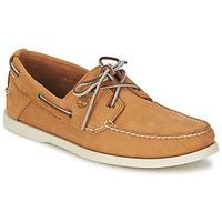 Shoes Férfi Vitorlás cipők Timberland EK HERITAGE BOAT 2 EYE Bézs