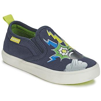 Cipők Fiú Belebújós cipők Geox KIWI B. D Kék / Zöld