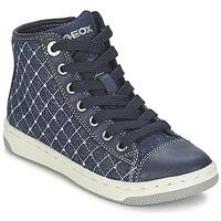 Shoes Lány Magas szárú edzőcipők Geox CREAMY B Tengerész