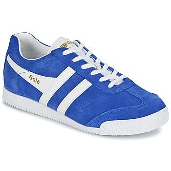 Cipők Női Rövid szárú edzőcipők Gola HARRIER Kék / Fehér
