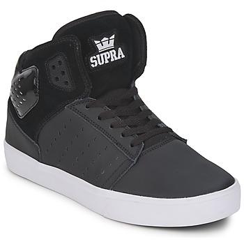 Cipők Férfi Magas szárú edzőcipők Supra ATOM Fekete  / Fehér