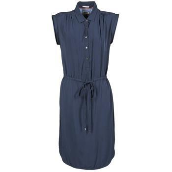 Ruhák Női Rövid ruhák Tommy Jeans BASIC SHIRT DRESS Tengerész