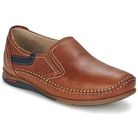 Cipők Férfi Belebújós cipők Fluchos CATAMARAN Barna