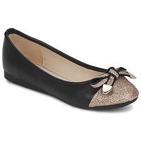 Cipők Női Balerina cipők / babák Moony Mood DAK Fekete