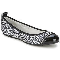 Cipők Női Balerina cipők / babák Bikkembergs BASAR 910 Fekete  / Fehér