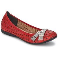 Cipők Női Balerina cipők / babák Un Matin d'Ete DISTRICTY Piros