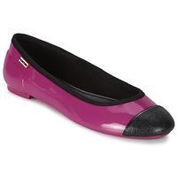 Cipők Női Balerina cipők / babák Hunter ORIGINAL BALLET FLAT Málna