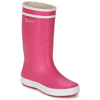 Cipők Lány Gumicsizmák Aigle LOLLY-POP Rózsaszín / Fehér