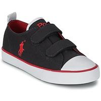 Cipők Gyerek Rövid szárú edzőcipők Polo Ralph Lauren WHEREHAM LOW EZ Kék