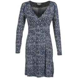 material Női Rövid ruhák Cream OMAGA Kék