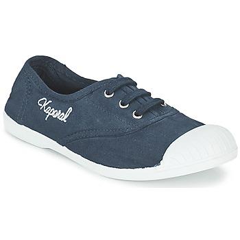Cipők Lány Rövid szárú edzőcipők Kaporal VICKANO Tengerész