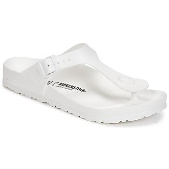 Cipők Női Lábujjközös papucsok Birkenstock GIZEH EVA Fehér