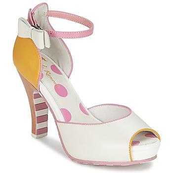 Shoes Női Szandálok / Saruk Lola Ramona ANGIE Rózsaszín / Fehér