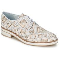 Cipők Női Oxford cipők Stéphane Kelian HUNA 7 Fehér